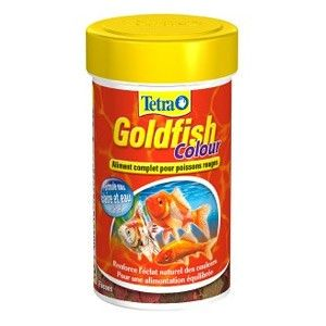 Тетра GoldFish Colour 250мл хлопья