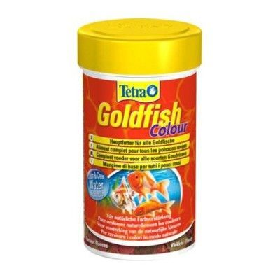 Тетра GoldFish Colour 100мл