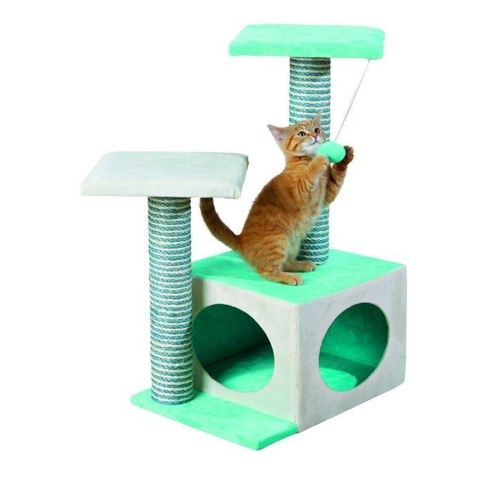 Когтеточка с домиком для кошек