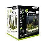 Аквариум Акваэль SHRIMP SET SMART LED PLANT ll 20 черный (19 л)